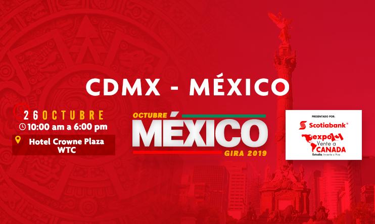 Expo Vente a Canada – CDMX 2019